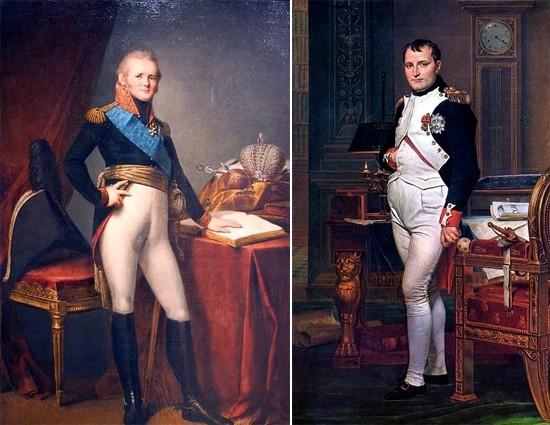 Император Александр I и Наполеон